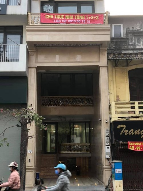 Cho thuê nhà phố Trần Đại Nghĩa gần chợ Bách Khoa, DT 50m2x2t, MT 4.2m, giá 20tr/tháng