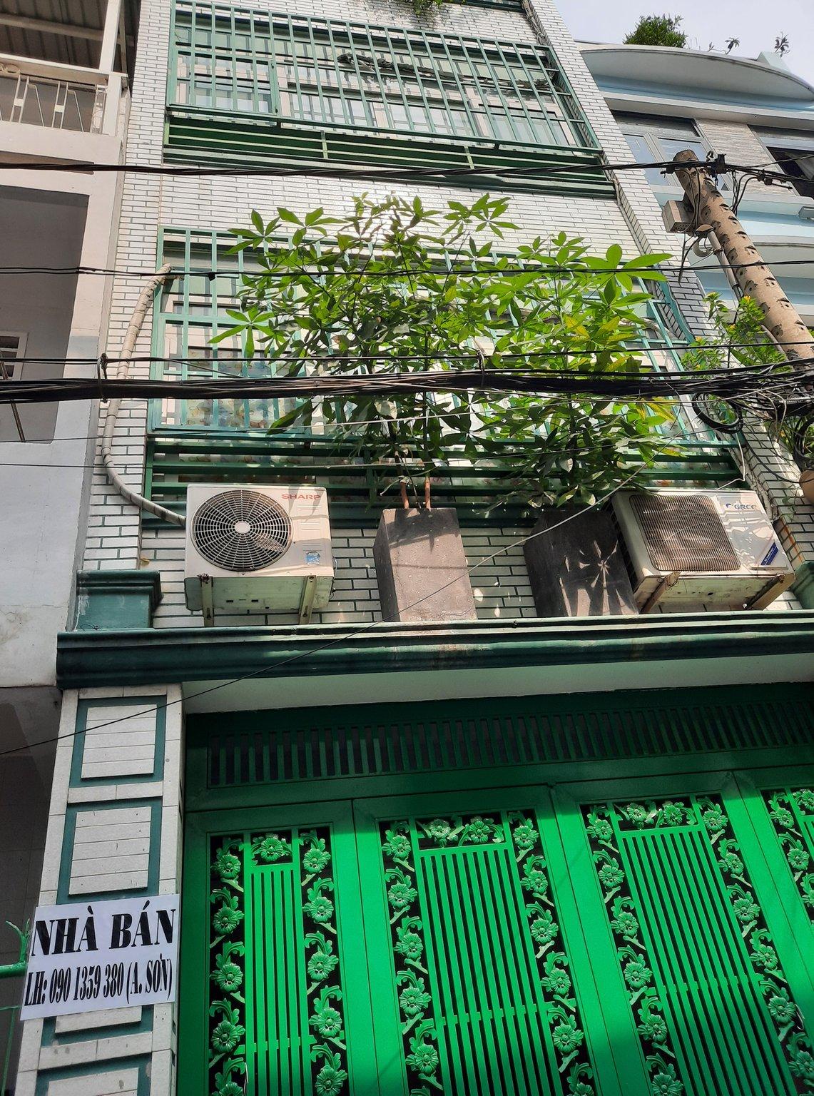 Bán nhà số 42/5 Bùi Thị Xuân, P2, Tb