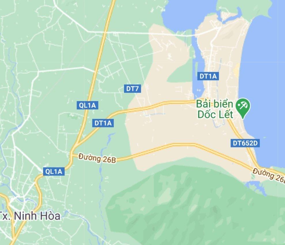 Đất Dốc Lết nam vịnh Vân Phong