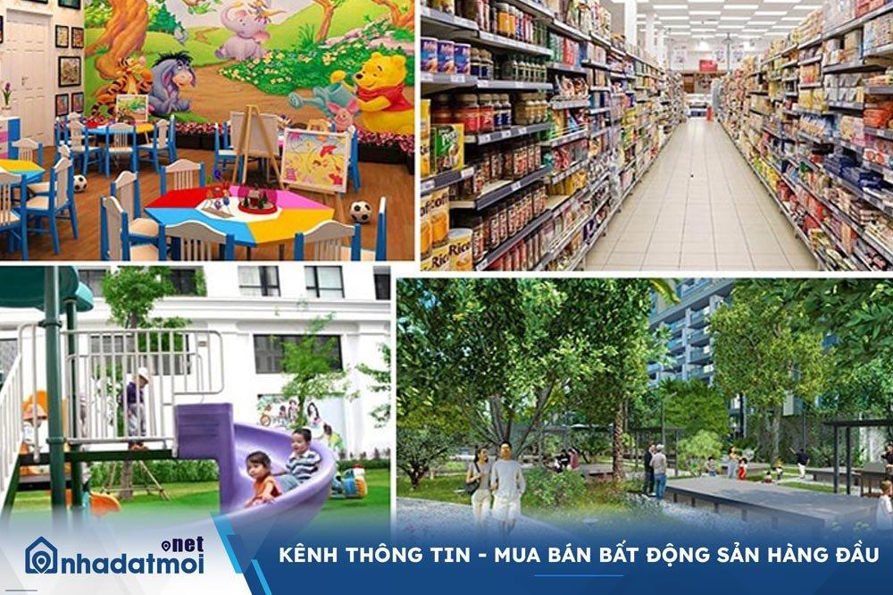 Tiện ích nội khu khu dân cư Hoàng Anh Minh Tuấn